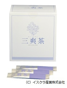 三爽茶(イスクラ産業㈱)