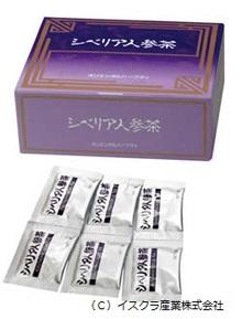 シベリア人参茶(イスクラ産業㈱)